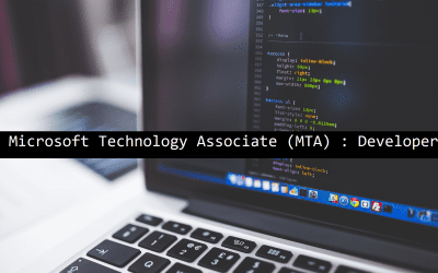 Microsoft Technology Associate (MTA) : Developer