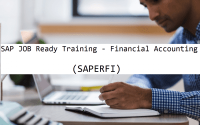 SAP Job Ready Training – Financial Accounting
