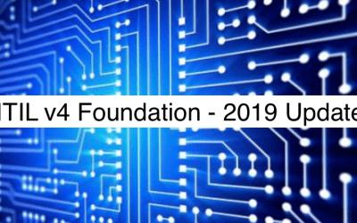 ITIL® v4 Foundation – 2019 update