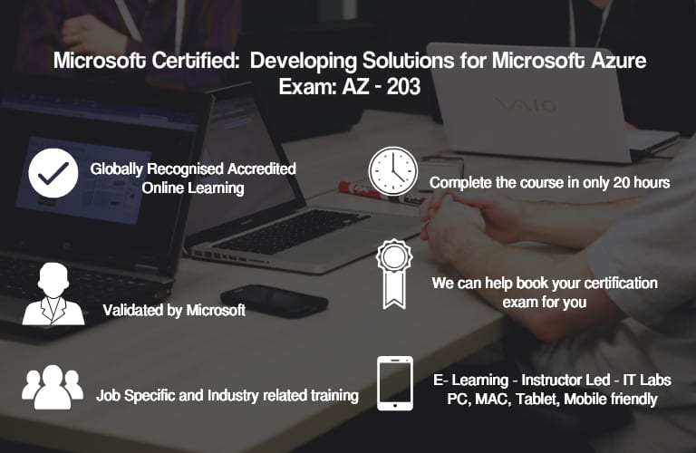MS Azure Dev Associate AZ-203: Developing Solutions for MS Azure