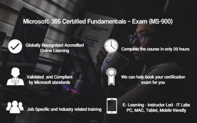 Microsoft 365 Certified Fundamentals – Exam (MS-900)