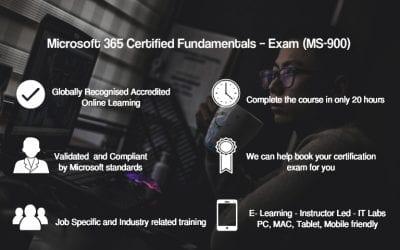 Microsoft 365 Certified Fundamentals – Exam (MS-900)