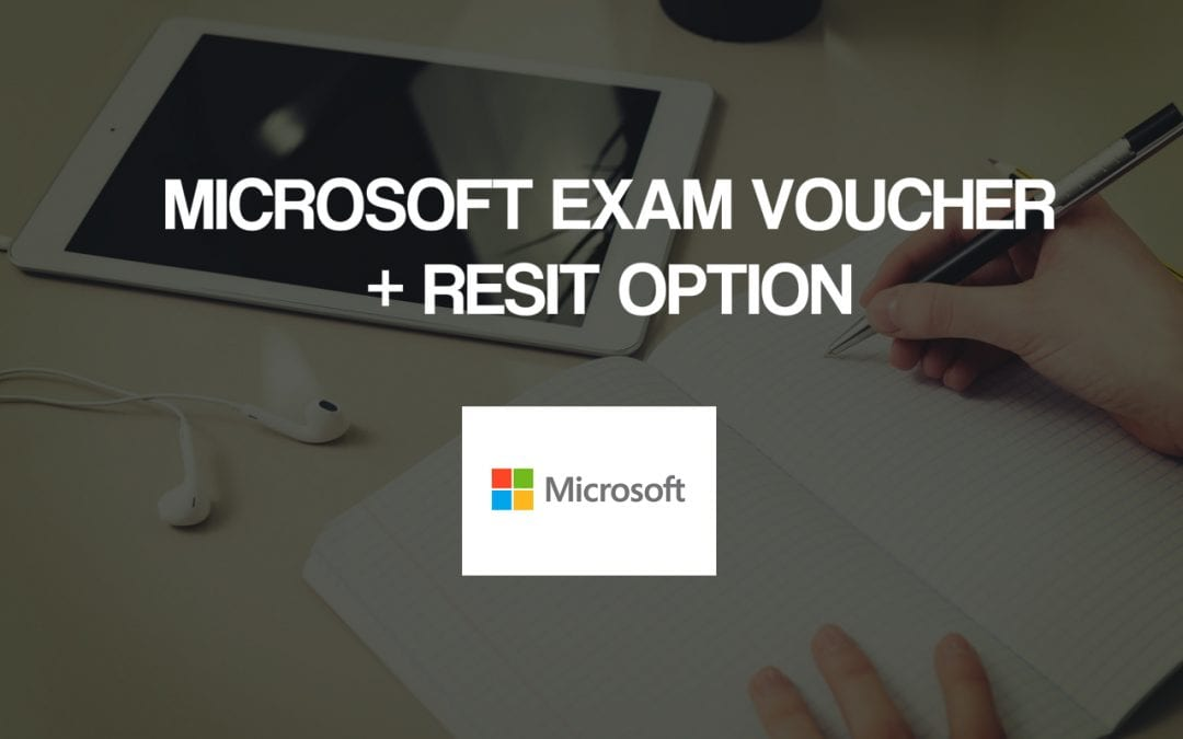 Microsoft Exam Voucher (MCP) + Resit Option